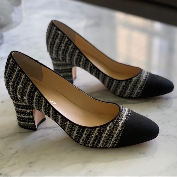 5723f2a2088 Ivanka Trump | Black Toe Embroidered Heel | 7.5